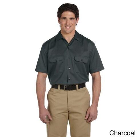 Dickies Men's Short Sleeve Collared Work Shirt