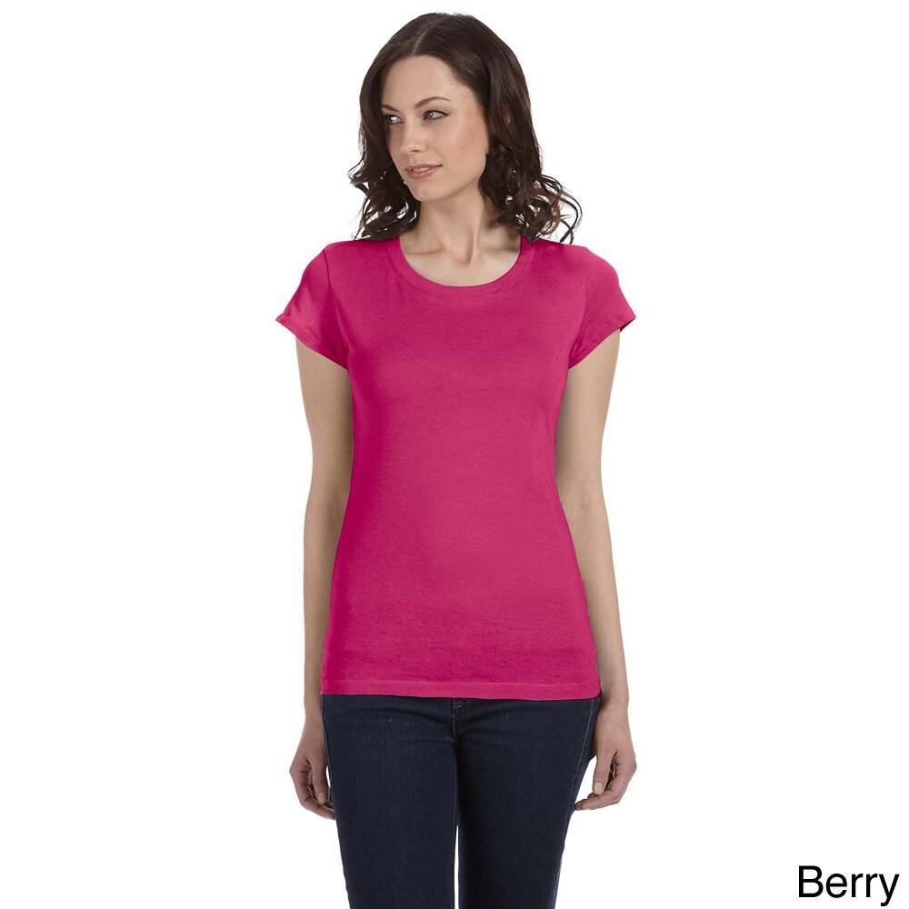 Bella Women's 'Marcelle' Sheer Jersey Longer-length T-shi...