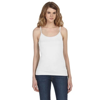 Bella Women's 'Louise' Sheer Jersey Longer-length Tank