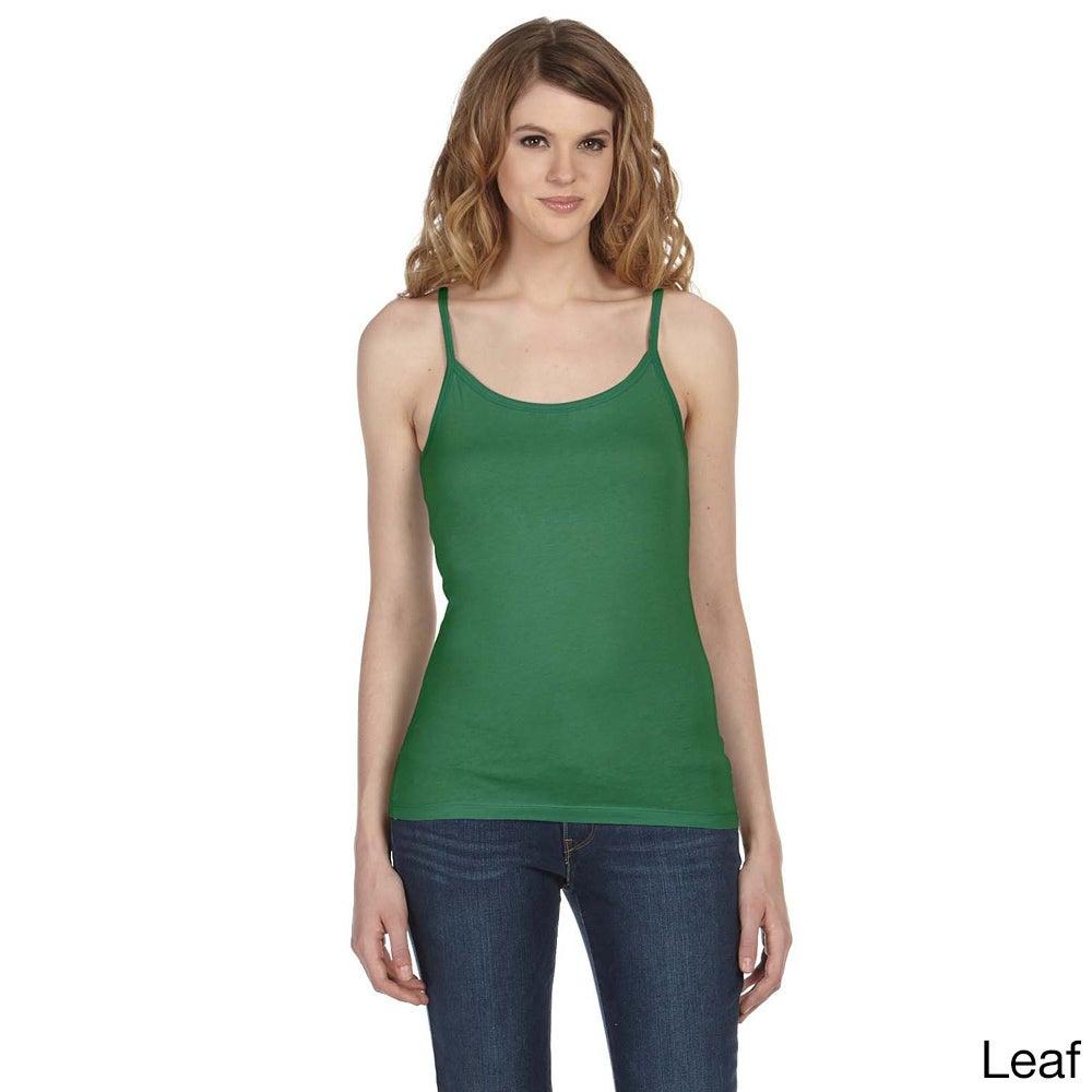Bella Women's 'Louise' Sheer Jersey Longer-length Tank (L...