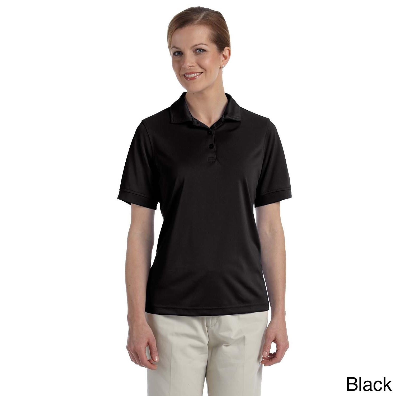 Ashworth Women's Performance Wicking Pique Polo Shirt (S,...