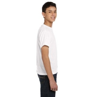 Sublivie Youth Solid White T-shirt
