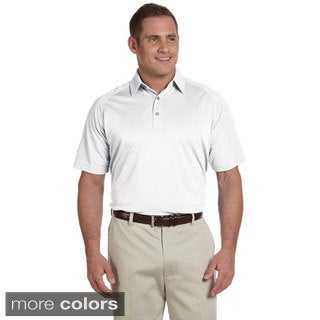 Ashworth Men's Performance Wicking Pique Polo Shirt