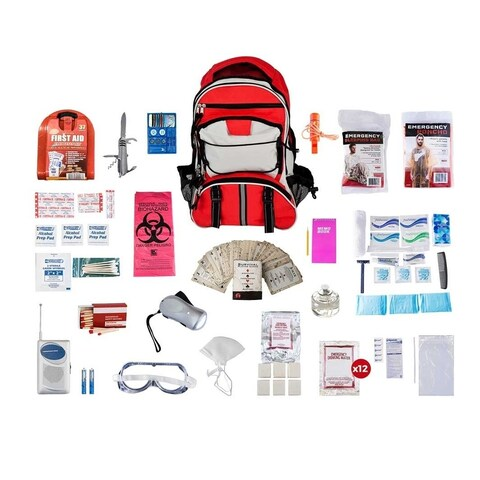 Guardian Deluxe Survival Kit - Red