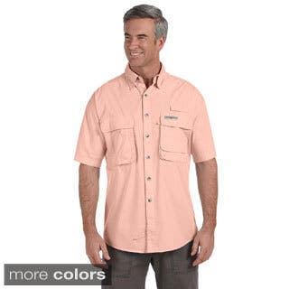 Hook & Tackle Men's 'Gulf Stream' Short Sleeve Fishing Shirt|https://ak1.ostkcdn.com/images/products/8941997/Hook-Tackle-Mens-Gulf-Stream-Short-Sleeve-Fishing-Shirt-P16155176.jpg?impolicy=medium