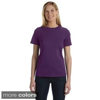 Bella Women's Missy Jersey Crew Neck T-shirt