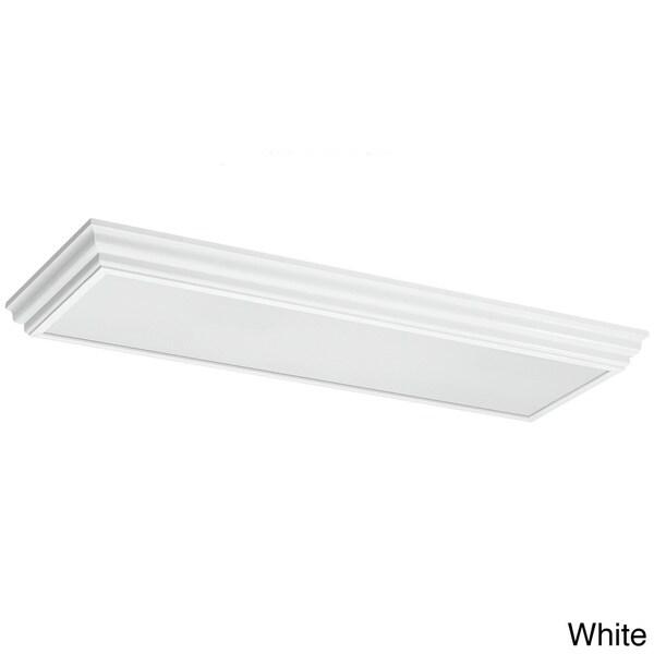 Shop 4-light Drop Lens Fluorescent Long Fixture