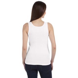 Bella Women's Organic Cotton Ribbed Tank Top