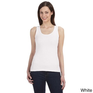 Bella Women's Organic Cotton Ribbed Tank Top (4 options available)