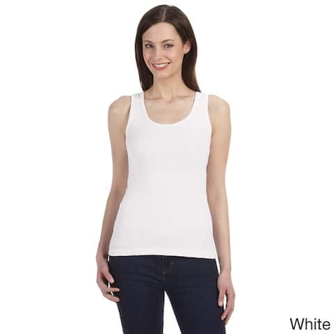 Bella Women's Organic Cotton Ribbed Tank Top