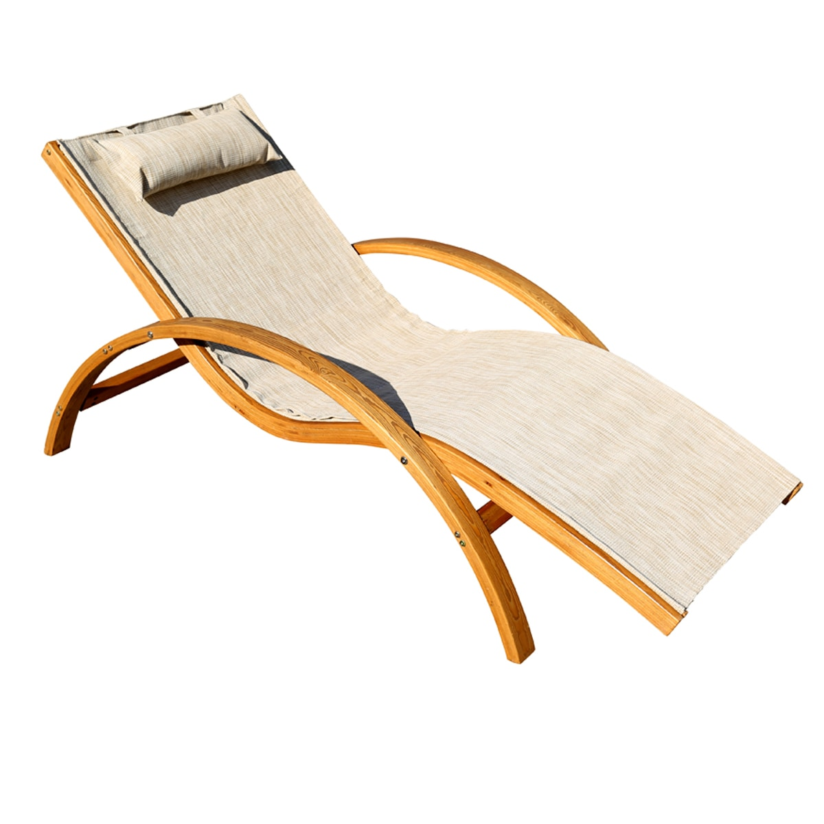 Leisure Sling Outdoor Lounge Chair (Sling Lounge Chair), ...