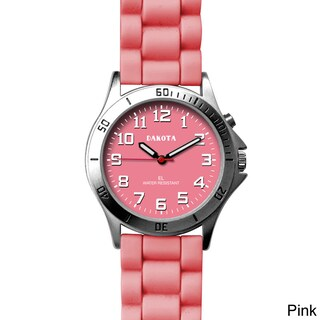 Dakota Unisex Color 'Sport E.L.' Watch (Option: Pink)