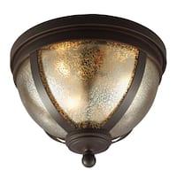 Sfera 3-light Autumn Bronze Flush Mount