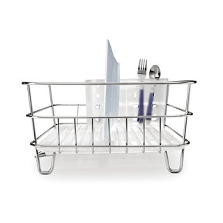 simplehuman Stainless Steel Compact Wire Frame Dish Rack