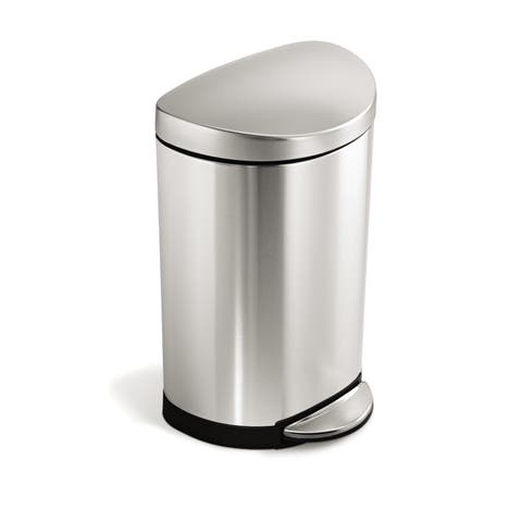 simplehuman 10-liter Semi-round Step Can