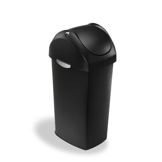 simplehuman 60-liter Swing Lid Trash Can