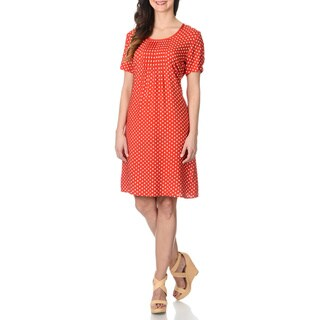 Link to La Cera Women's Polka Dot Print Dress Similar Items in Dresses