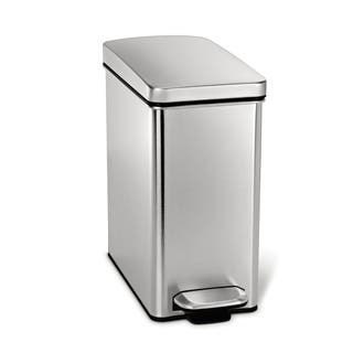 simplehuman 10 Liter Profile Step Can|https://ak1.ostkcdn.com/images/products/8942256/simplehuman-10-Liter-Profile-Step-Can-P16155371.jpg?impolicy=medium