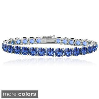 Crystal Ice Round Crystal Tennis Bracelet with Swarovski Elements|https://ak1.ostkcdn.com/images/products/8942277/Crystal-Ice-Round-Crystal-Tennis-Bracelet-with-Swarovski-Elements-P16155382.jpg?impolicy=medium