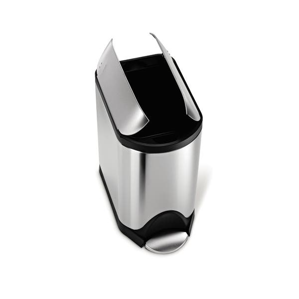 Shop simplehuman Butterfly Step Trash Can, Fingerprint-Proof ...