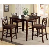 Oliver & James Saar 5-piece Counter Height Dining Set