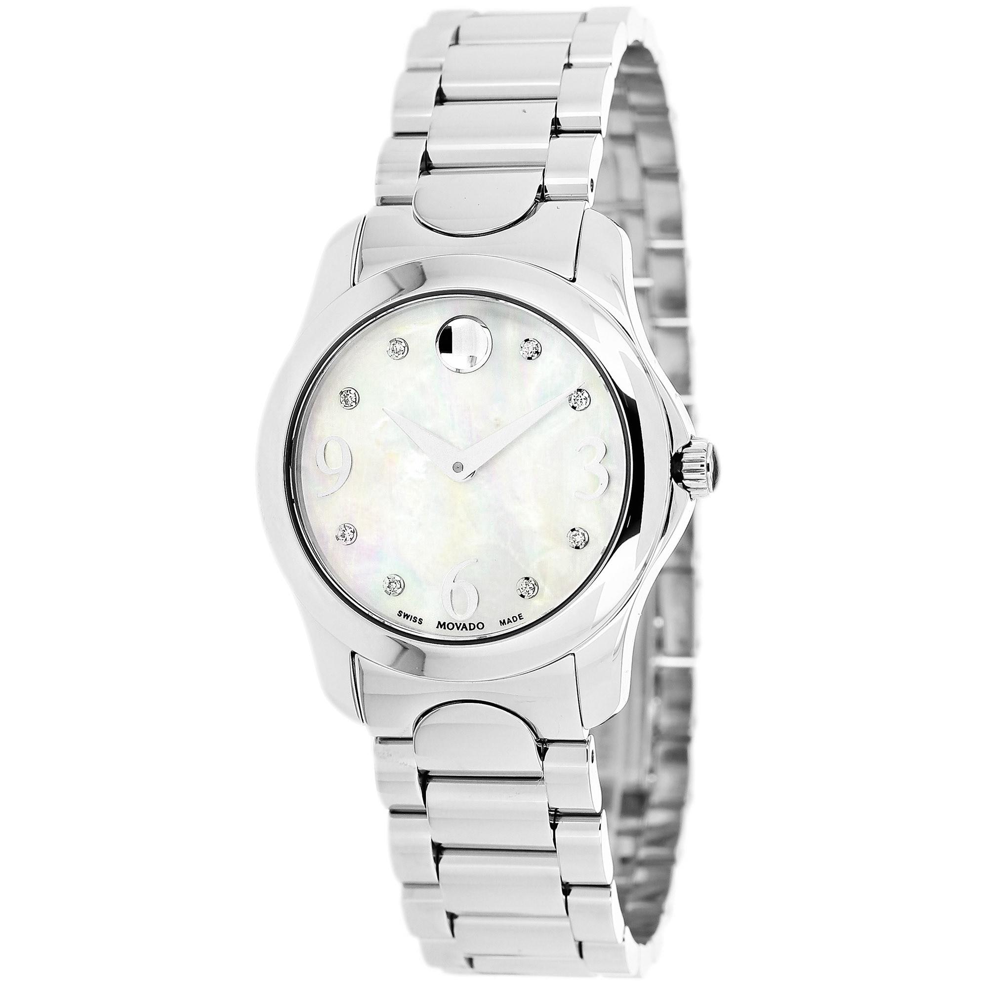 Movado 606696 Women's Moda Diamond Accents Watch (Movado ...