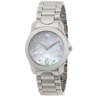 Movado 606696 Women's Moda Diamond Accents Watch