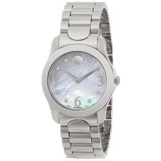 Movado 606696 Women's Moda Diamond Accents Watch|https://ak1.ostkcdn.com/images/products/8942399/Movado-Womens-Moda-Diamond-Accents-Watch-P16155477.jpg?impolicy=medium