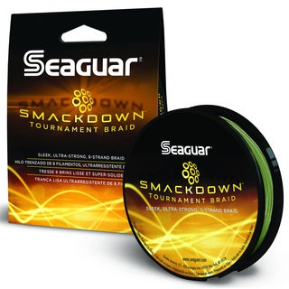 Seaguar Smackdown Green Braided Fishing Line