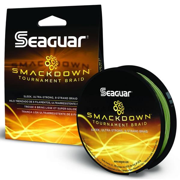 Seaguar Smackdown Green Braided Fishing Line