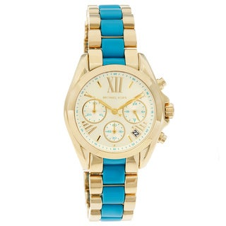 Michael Kors Women's MK5908 'Bradshaw' Mini Chronograph Two-tone Watch