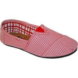 Women's Dawgs Kaymann Slip-On Shoe Red Stripes