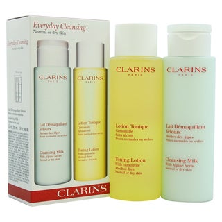 Clarins Everyday Cleansing Kit Normal or Dry Skin 2-piece Kit
