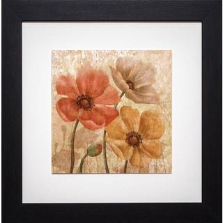 Conrad Kutsen 'Poppy Allure I' Framed Print
