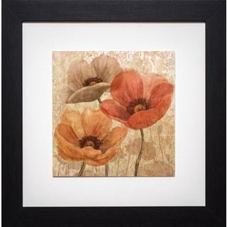 Conrad Kutsen 'Poppy Allure II' Framed Print
