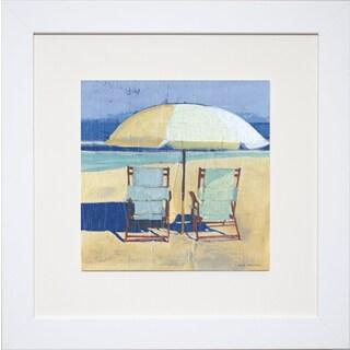 Carol Robinson 'Seating for II' Framed Print