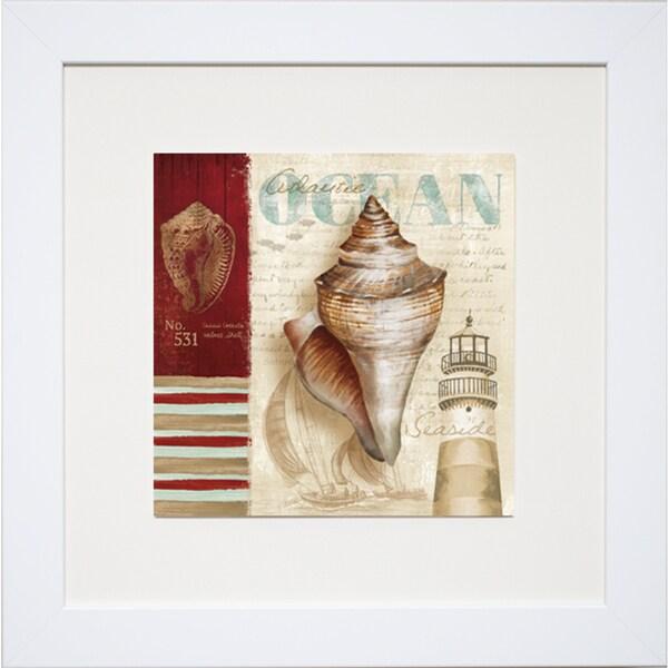 Conrad Kutsen 'Atlantic Ocean' Framed Print