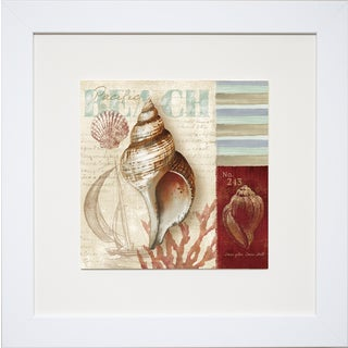 Conrad Kutsen 'Pacific Beach' Framed Print