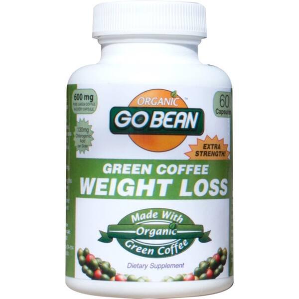 Shop Organic Go Bean Green Coffee Weight Loss Supplement 60
