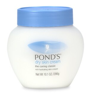 Pond's Dry Skin Cream The Caring Classic 10.1-ounce Rich Hydrating Skin Cream (Pack of 6)