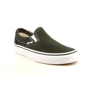 Vans Women's 'Classic Slip-On' Basic Textile Athletic Shoe