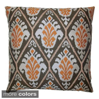 Treasures 24-inch Feather Filled Throw Pillow