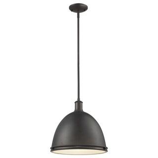Z-Lite Mason 1-light Indoor Bronze Pendant