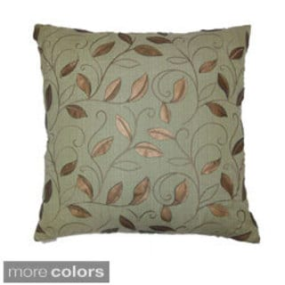 Atticus Decorative 24-inch Feather Filled Throw Pillow