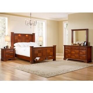 Smithfield Bed Dresser Mirror Nightstands Bedroom Set