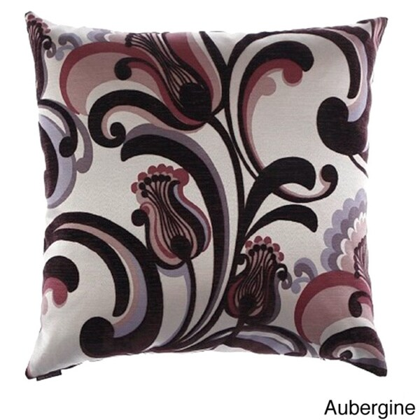 Romanza Decorative 24-inch Feather Filled Throw Pillow