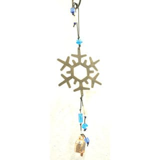 Handmade 'First Snow' Wind Chime (India)