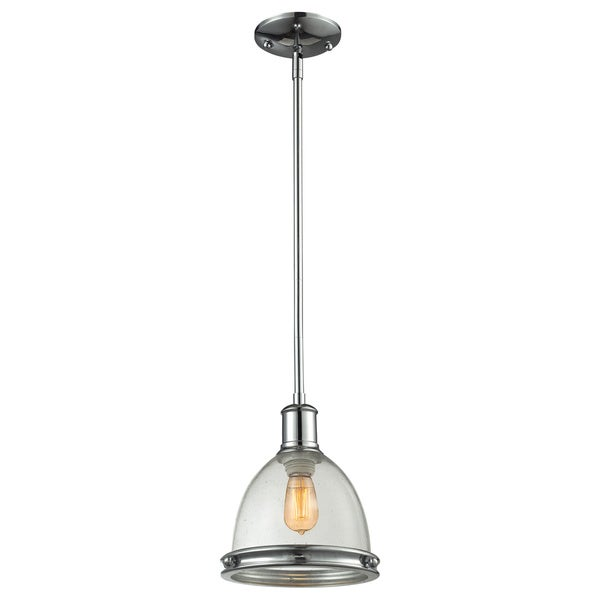 Avery Home Lighting Mason 1-light Polished Chrome Pendant