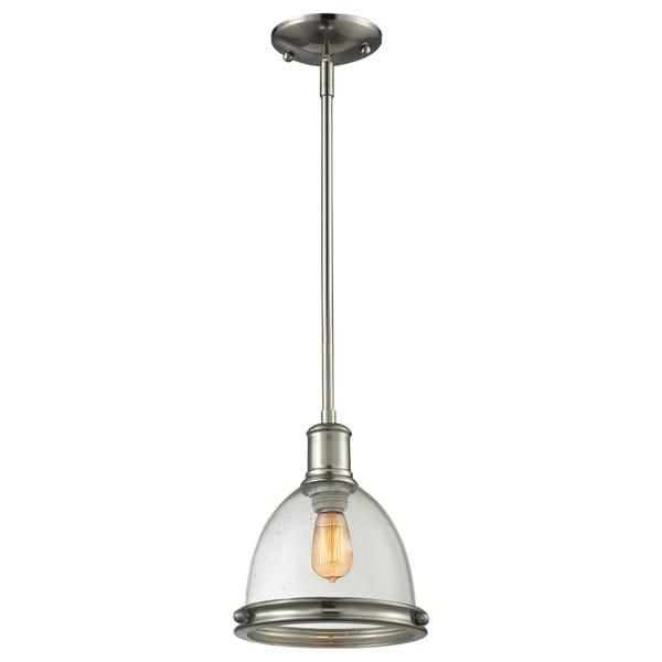 Shop Avery Home Lighting Mason 1-light Seeded Glass Bell