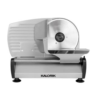Kalorik Silver Professional Stainless Steel Food Slicer